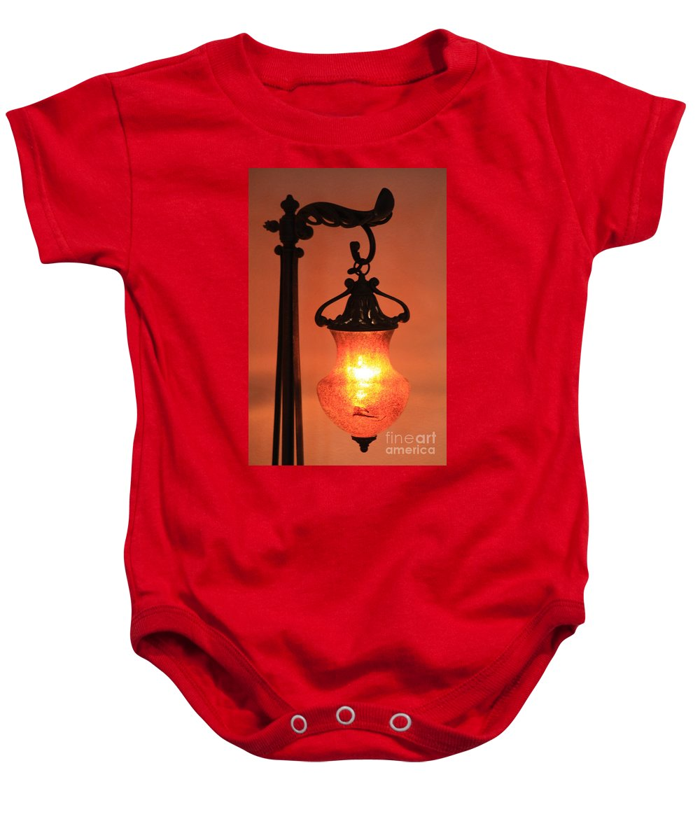 Evening Baby Onesie featuring the photograph Night by Brandi Maher