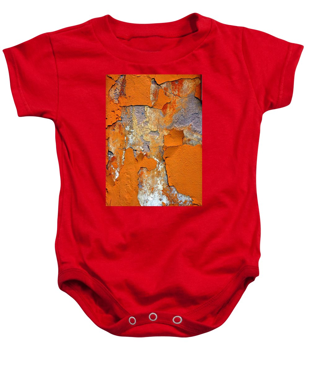 Marcia Lee Jones Baby Onesie featuring the photograph Pedimento by Marcia Lee Jones