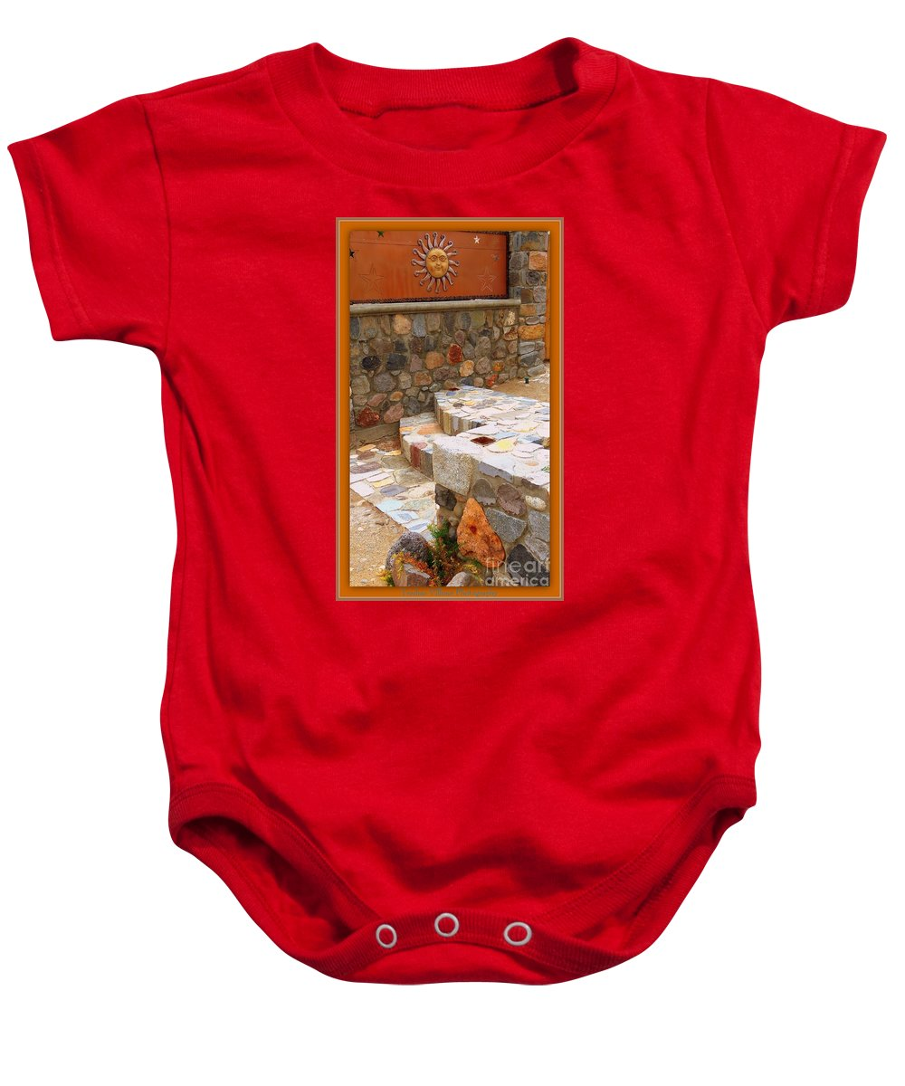 Rock Baby Onesie featuring the photograph Rock On by Bobbee Rickard