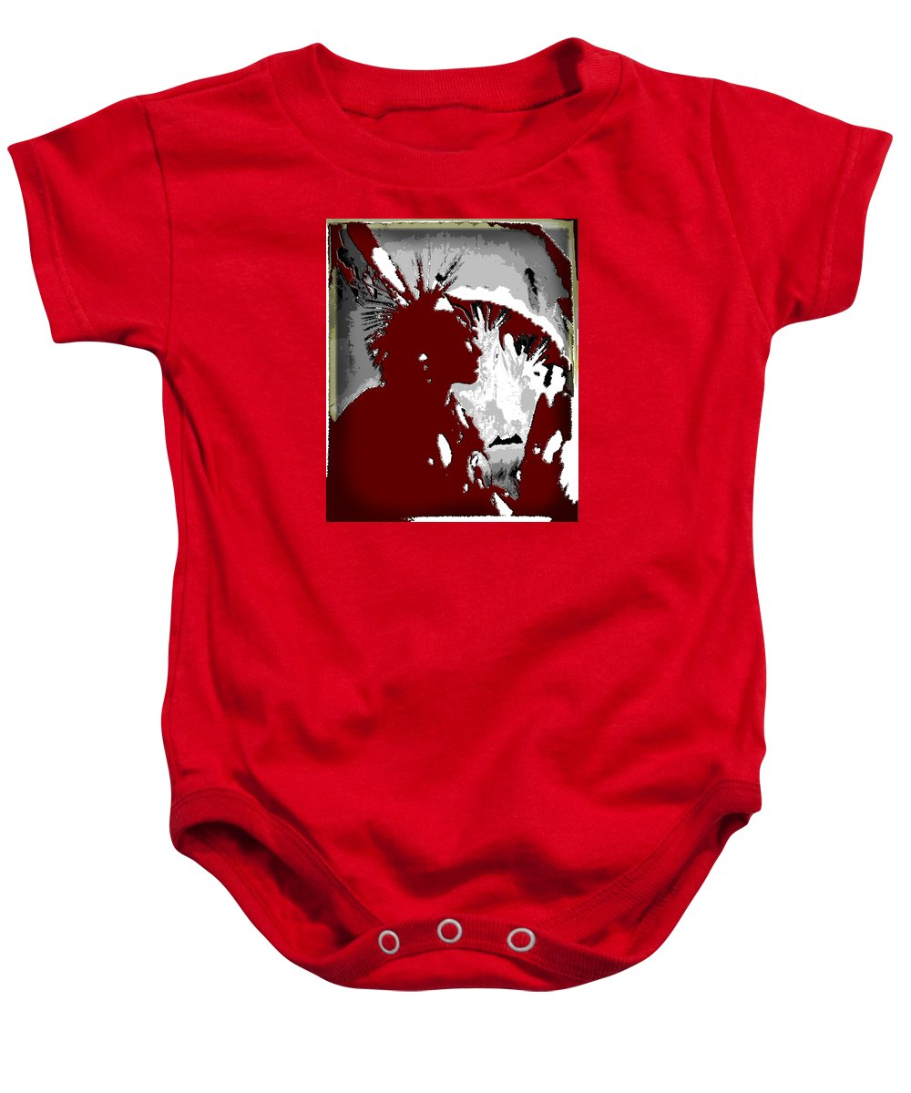 Nature Baby Onesie featuring the photograph Seminole Nation by Jimi Bush