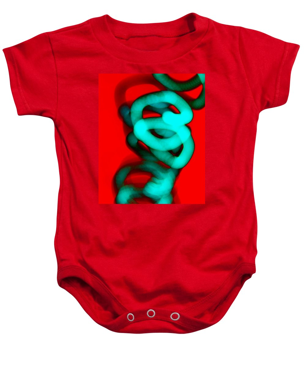 Contemporary Baby Onesie featuring the photograph Dimensional Tolerance by M Pace