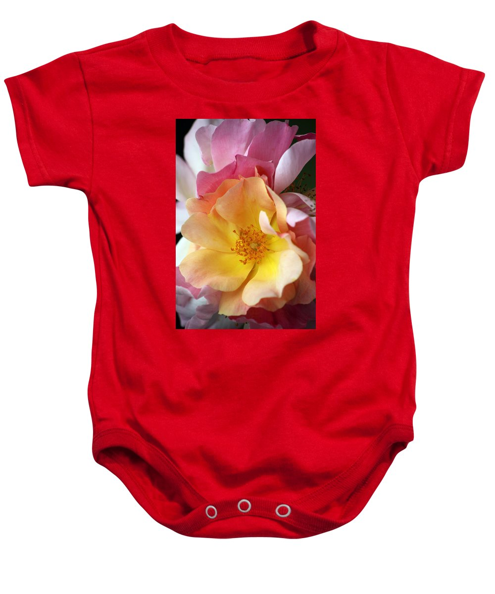 Flower Baby Onesie featuring the photograph Floral 20 by Carol Ann Thomas