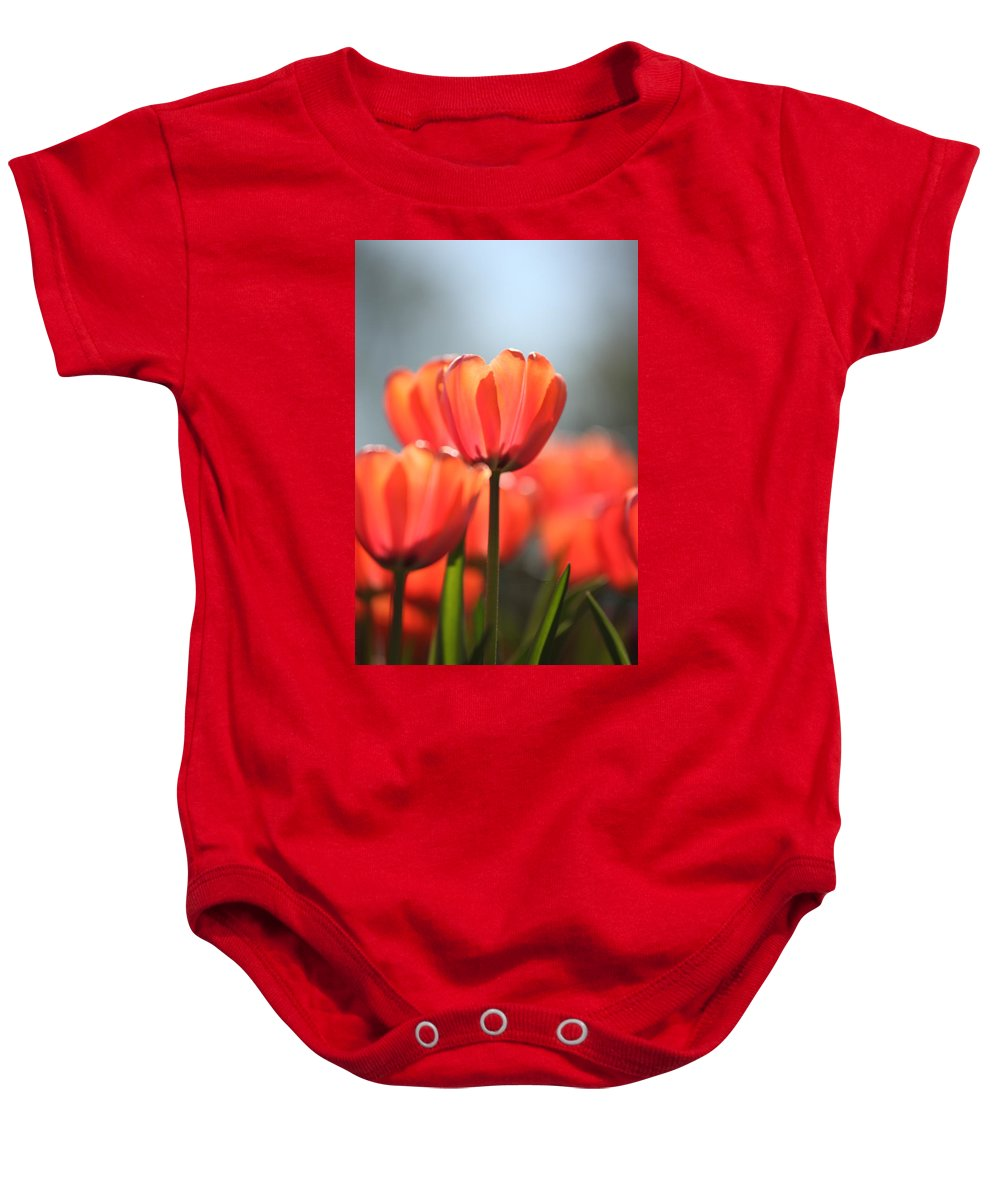 Flower Baby Onesie featuring the photograph Floral 34 by Carol Ann Thomas