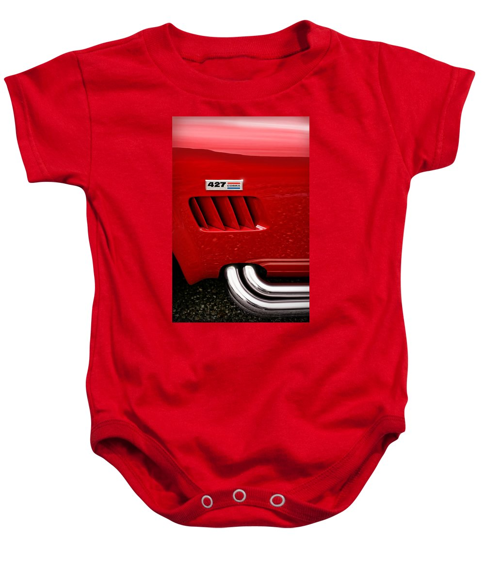 Ac Baby Onesie featuring the photograph 427 Ford Cobra by Gordon Dean II