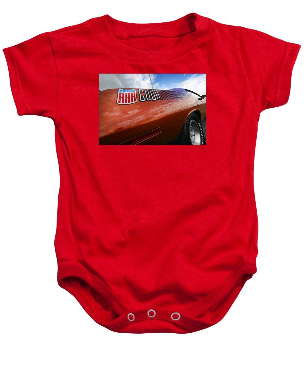 426 Baby Onesie featuring the photograph Aar Cuda by Gordon Dean II
