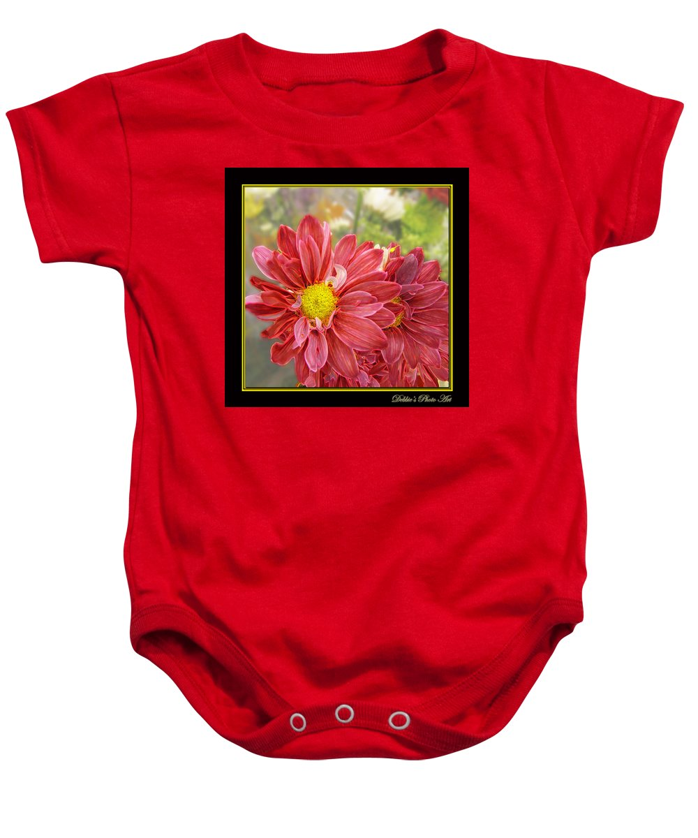 Nature Baby Onesie featuring the digital art Bright Edges by Debbie Portwood