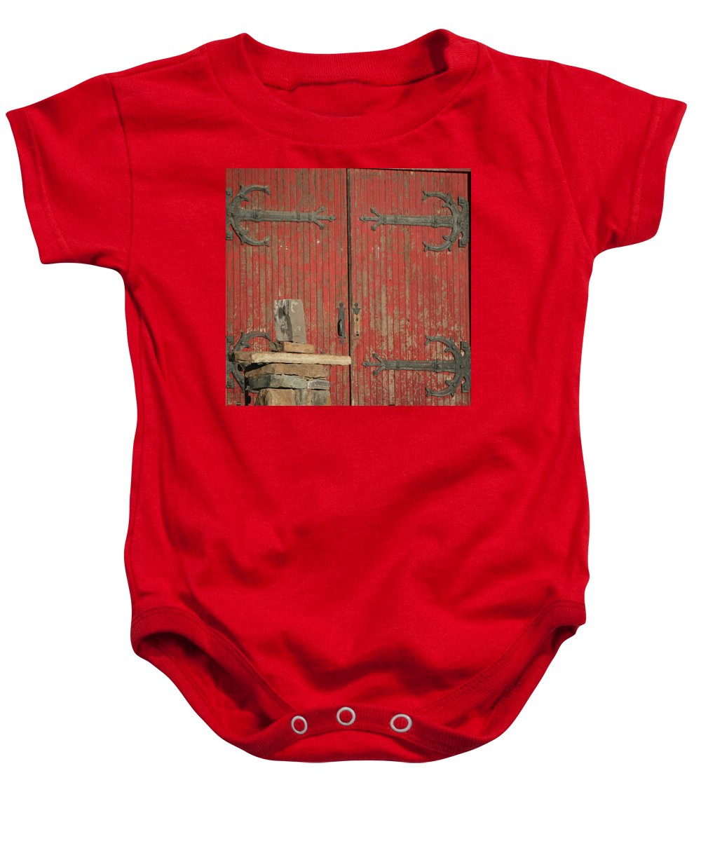 City Baby Onesie featuring the photograph City 0053 by Carol Ann Thomas