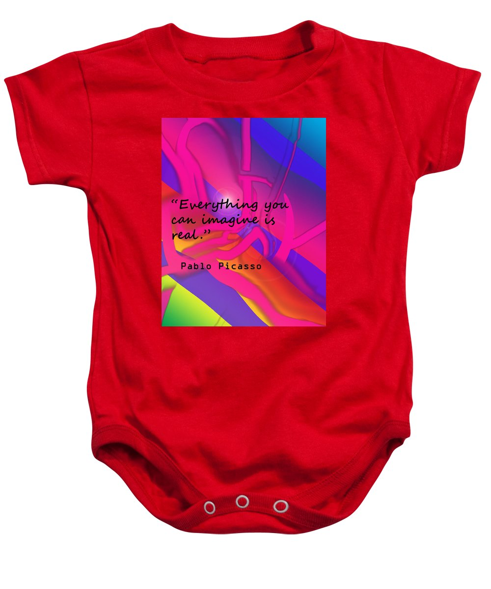 Poster Baby Onesie featuring the photograph Everything You Imagine by Ian MacDonald