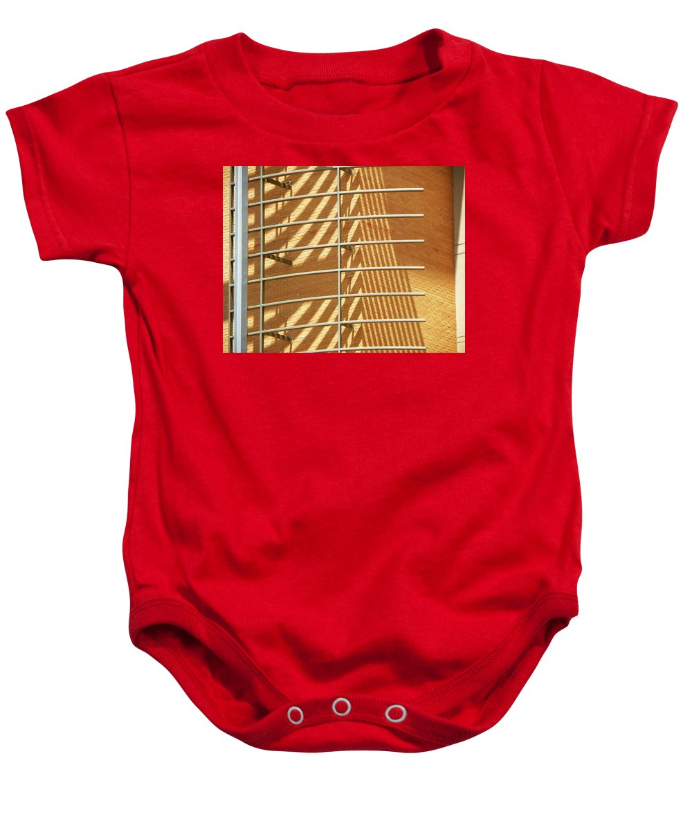 Abstract Baby Onesie featuring the photograph High Noon by Lenore Senior