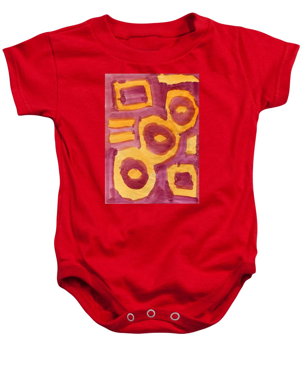 Lost Souls Baby Onesie featuring the painting Lost Souls by Taylor Webb