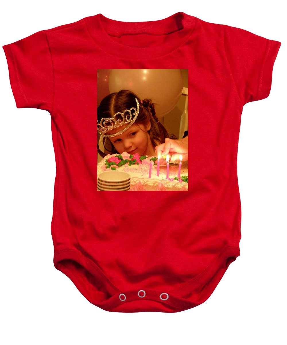 Birthday Baby Onesie featuring the photograph Make A Wish by Lainie Wrightson