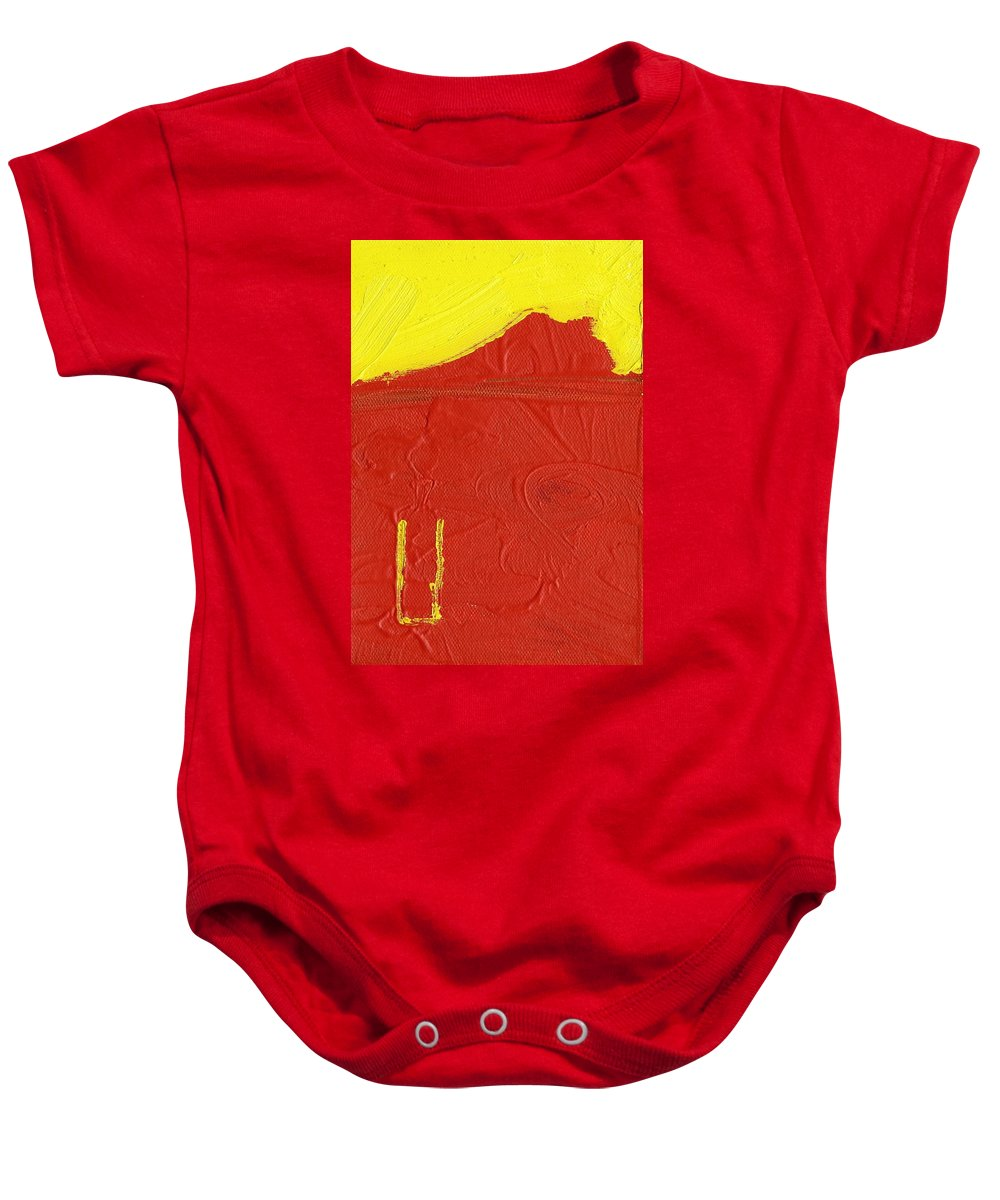 Natural Resource Baby Onesie featuring the painting Natural Resource by Taylor Webb
