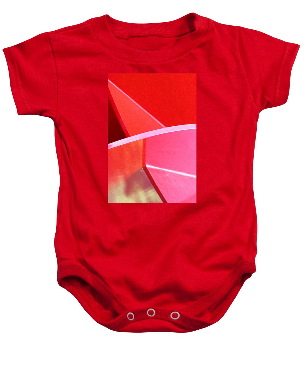 Photography Baby Onesie featuring the photograph Red Thing by Paul Wear