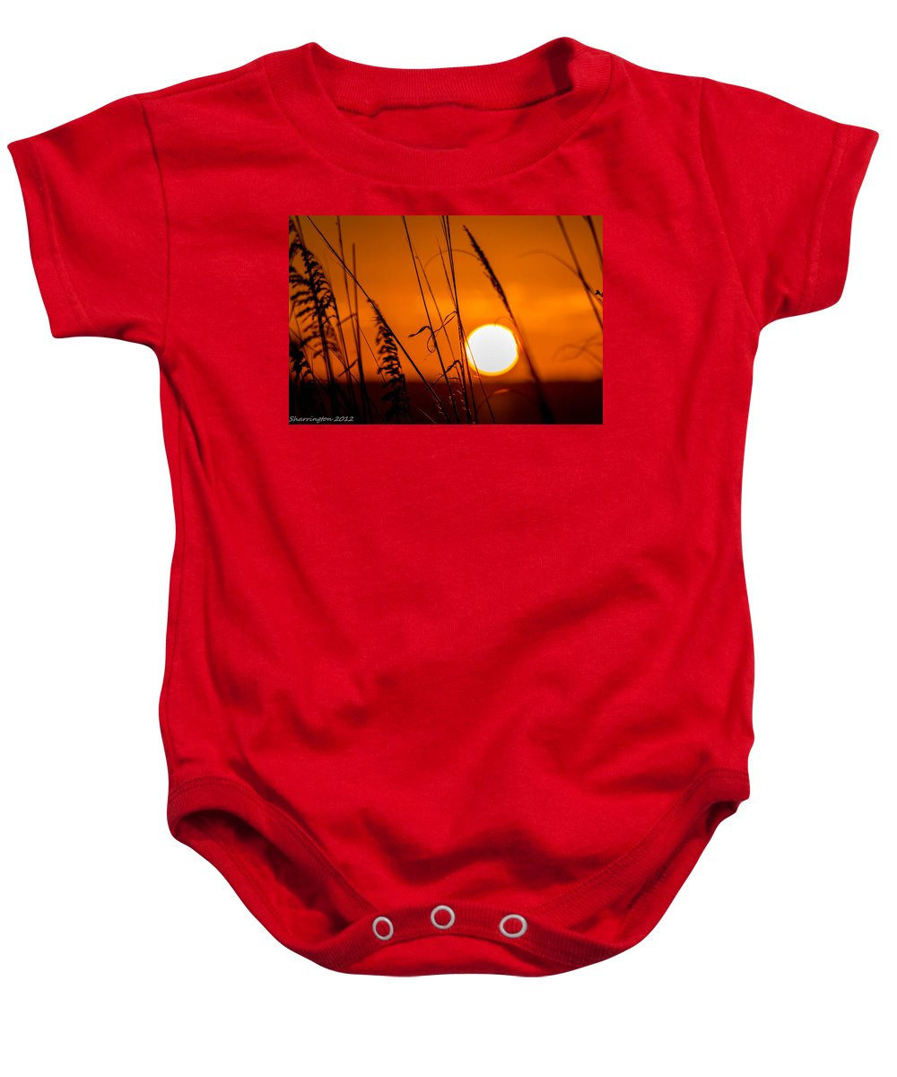 Relaxing Baby Onesie featuring the photograph Relaxed by Shannon Harrington