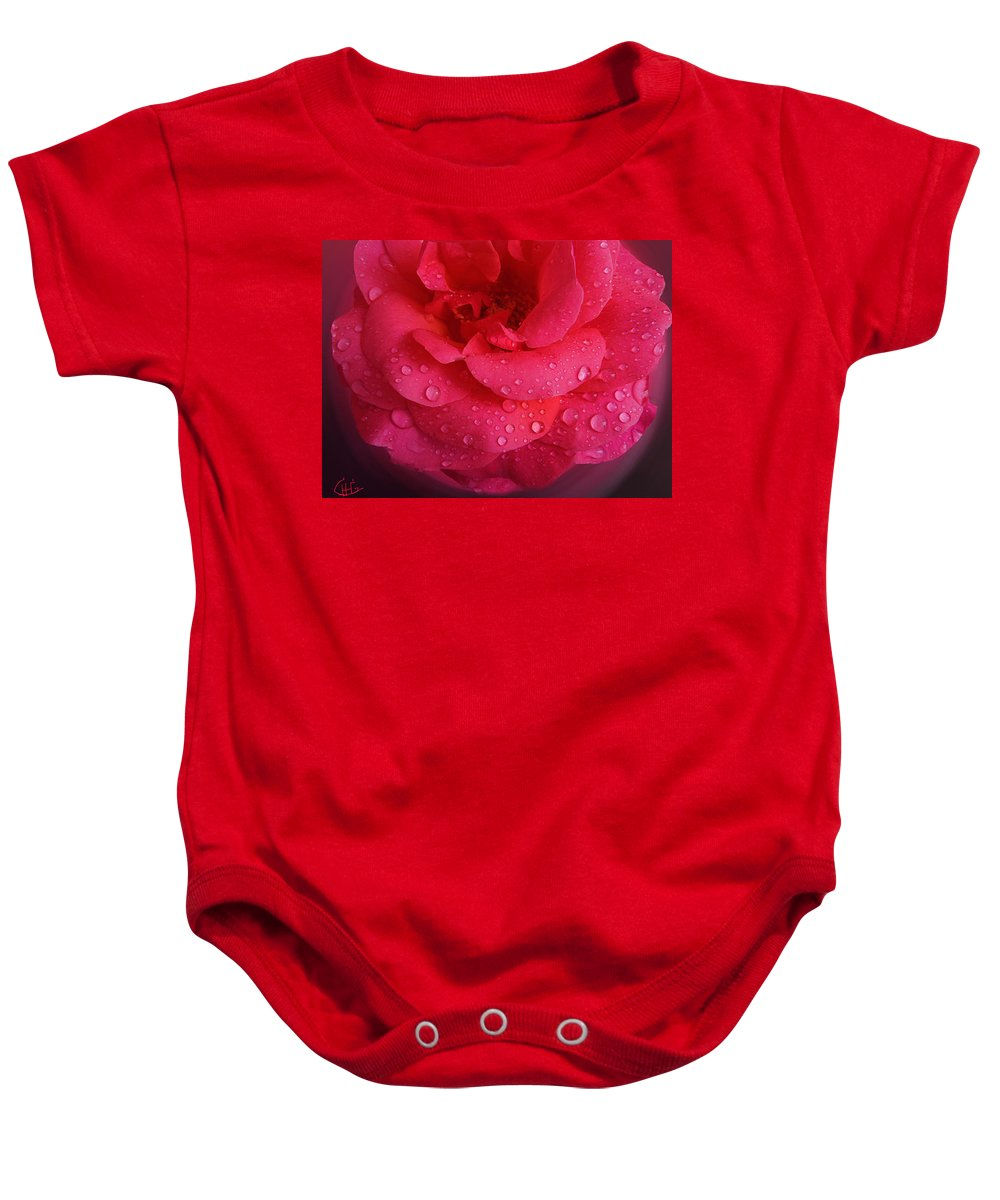 Colette Baby Onesie featuring the photograph Rose For You by Colette V Hera Guggenheim