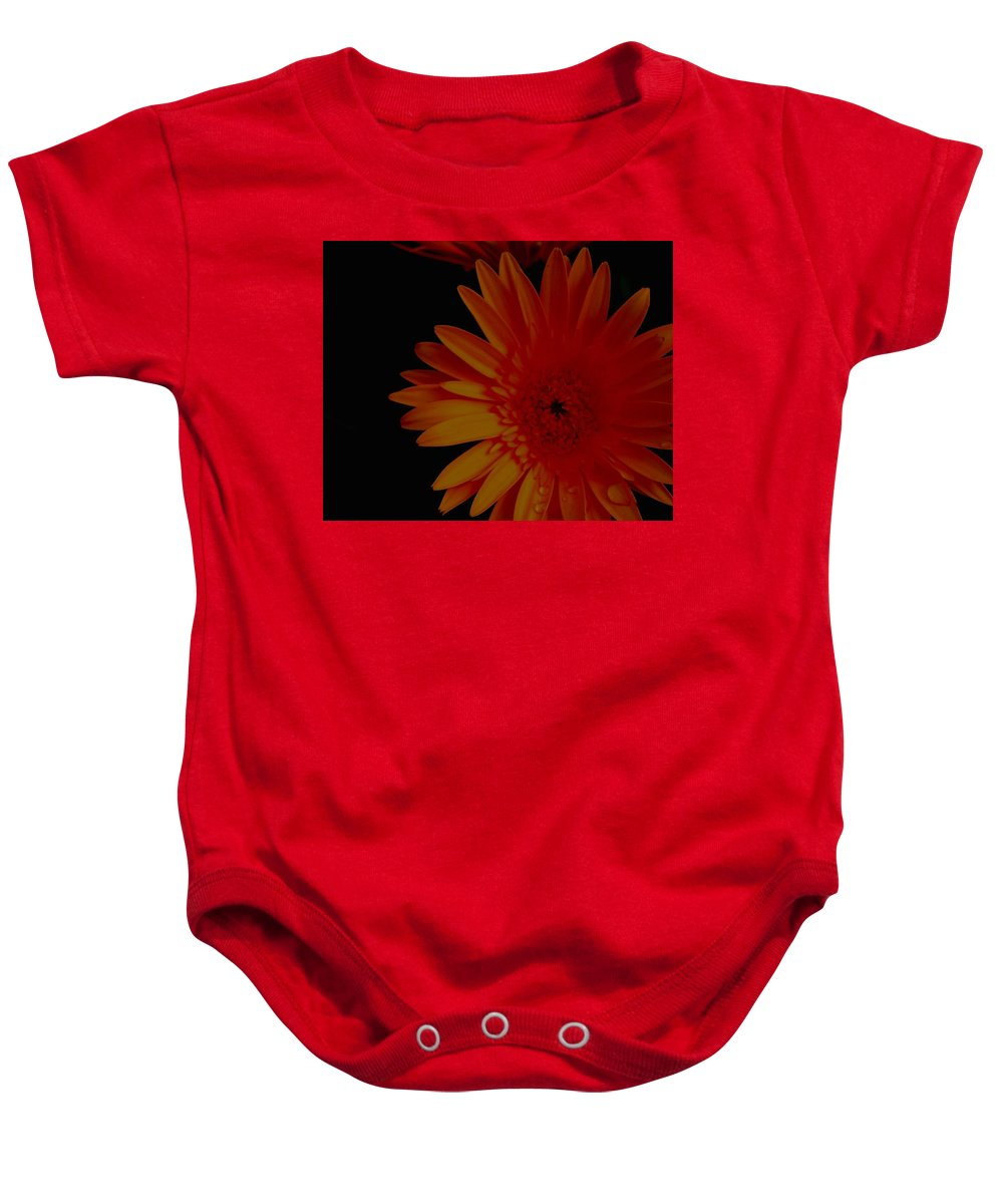 Gerber Baby Onesie featuring the photograph Tangerine Tango by Betty Northcutt