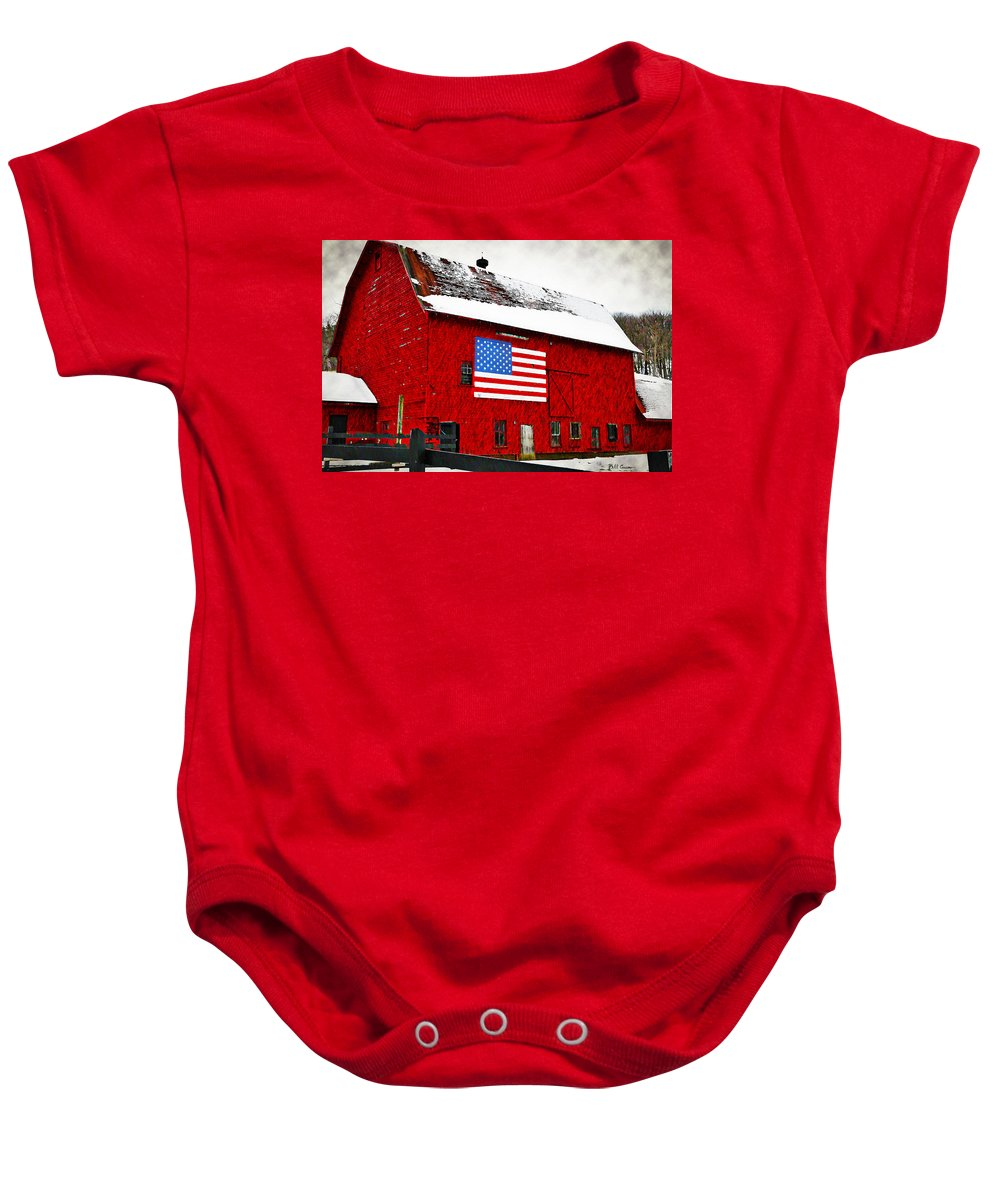 The American Dream Baby Onesie featuring the photograph The American Dream by Bill Cannon