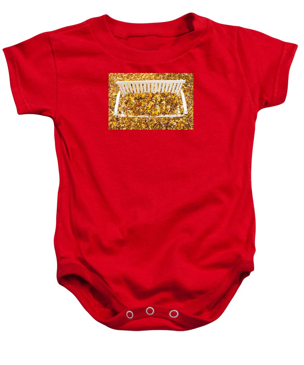 Swing Baby Onesie featuring the photograph The Swing by James BO Insogna