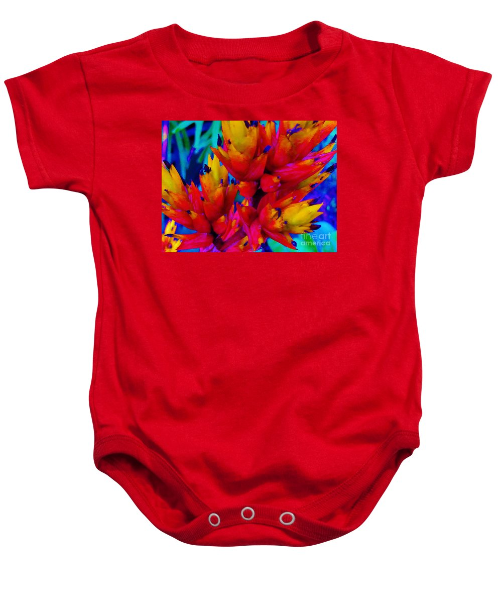 Baby Onesie featuring the photograph Welcome To The Tropics by Keri West