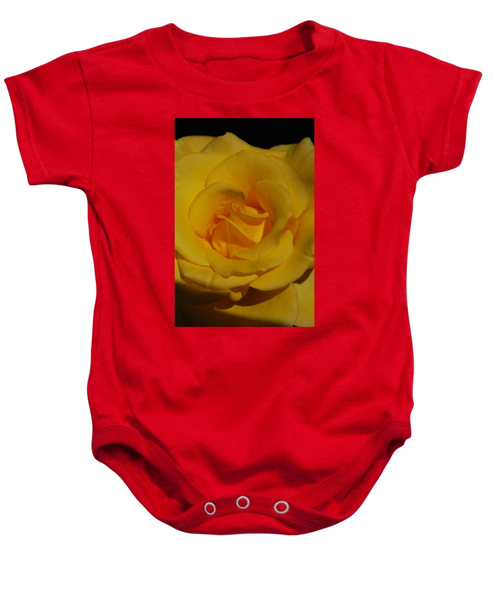 Earth's Flowers Baby Onesie featuring the photograph Beauty by Carol Eliassen