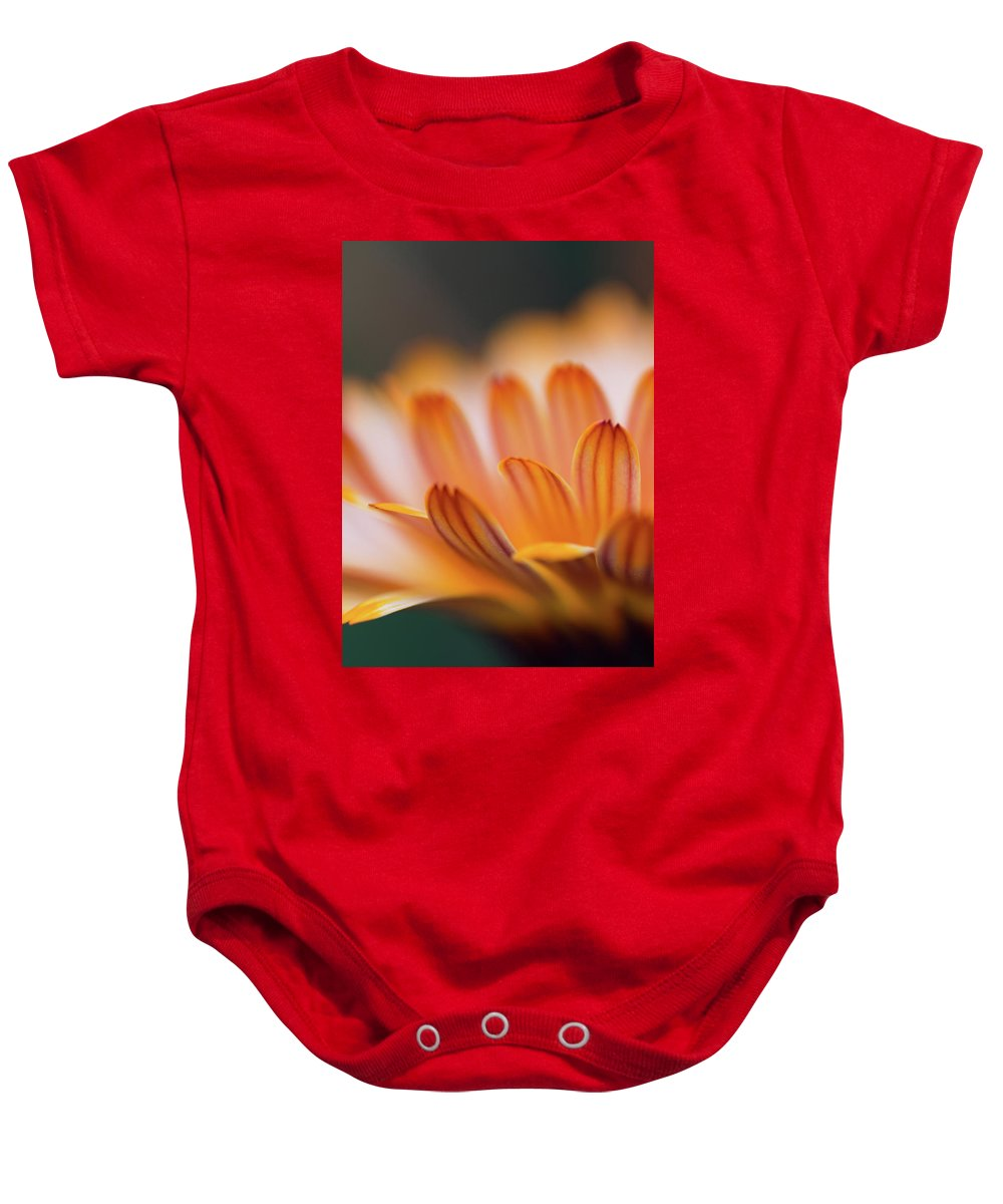Flower Baby Onesie featuring the photograph Sunlit by Jess Kruk