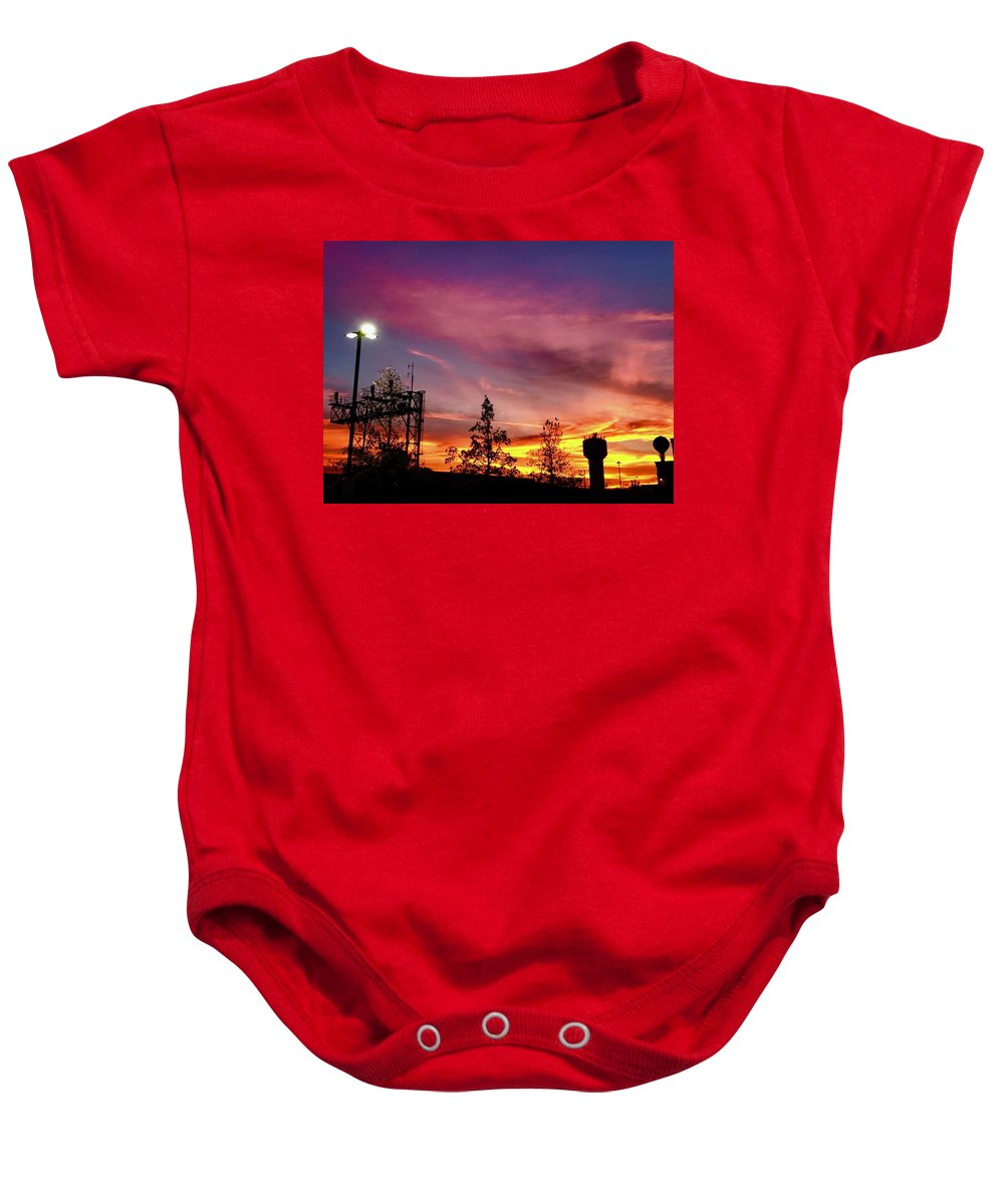 Baby Onesie featuring the photograph 11.27.2017 by Charles Duax
