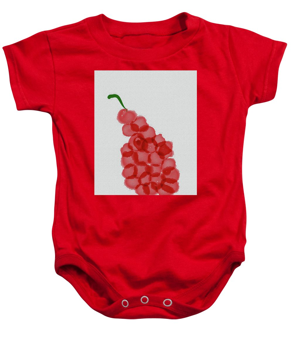 Grapes Baby Onesie featuring the photograph Grapes by Bill Owen