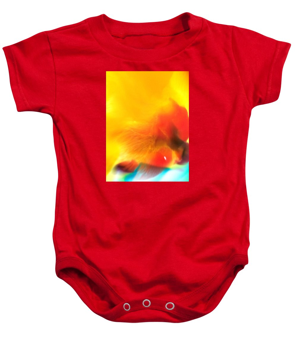 Color Baby Onesie featuring the photograph Untitled by Amy Cobb