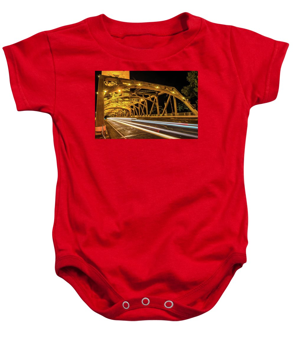 Sacramento Baby Onesie featuring the photograph Untitled by Cyrus Javid