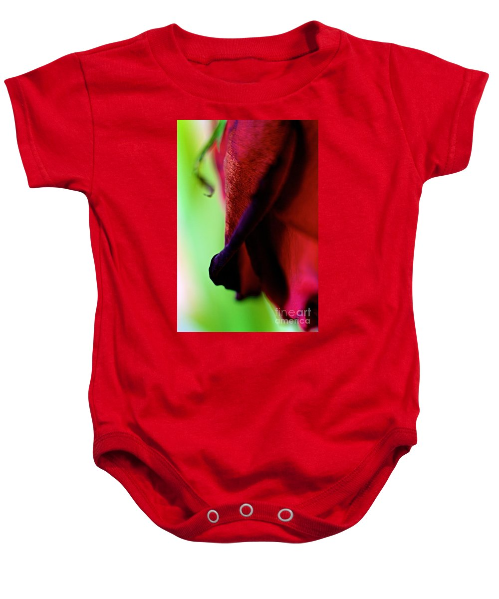 Flower Baby Onesie featuring the photograph True Beginning by DJ MacIsaac