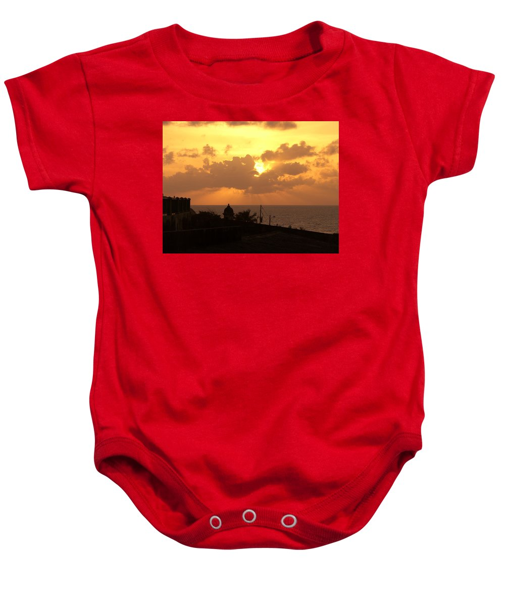Sky Baby Onesie featuring the photograph Afternoon by Are Lund