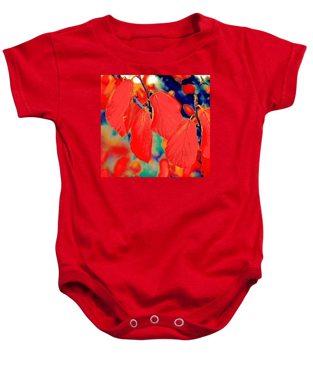 Photo Art Baby Onesie featuring the photograph And Then Everything Changed by David Coleman