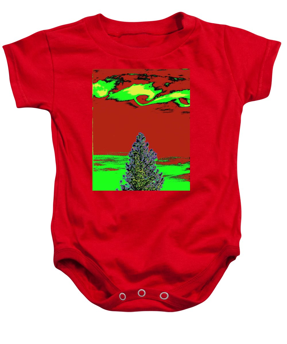 Photo Art Baby Onesie featuring the photograph Another World On Earth by Ben Upham III