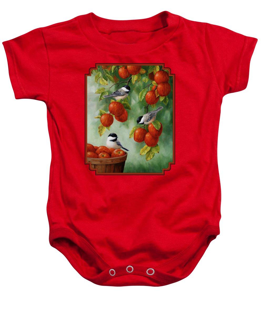Apple Baby Onesies