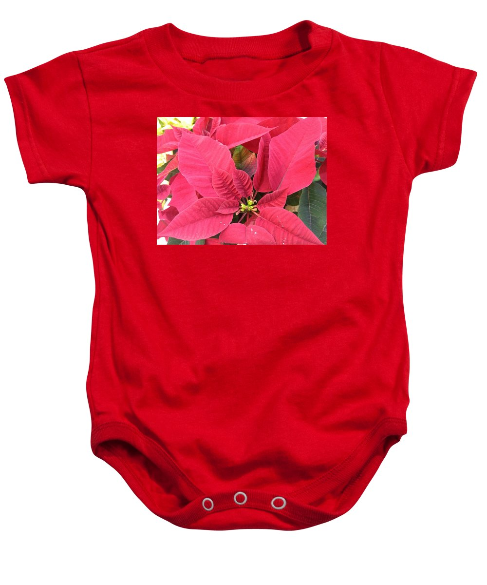 Christmas Baby Onesie featuring the photograph Christmas Is Coming by Van Maulding