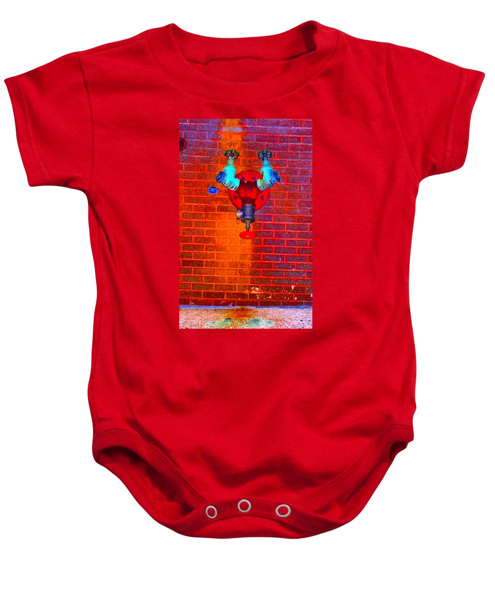 Color Photograph Baby Onesie featuring the photograph Color Pipe by Thomas Valentine