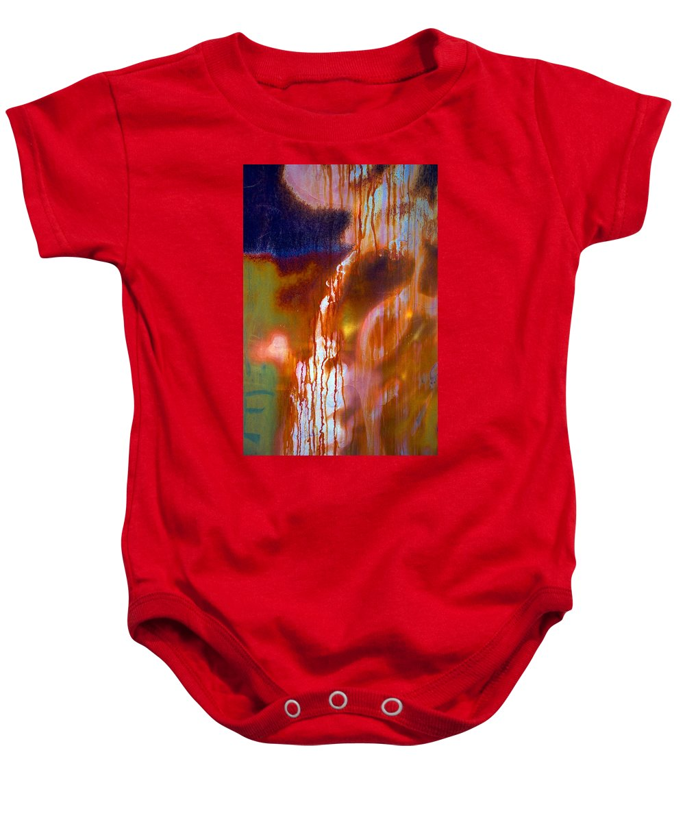 Skip Baby Onesie featuring the photograph Cry Me A River by Skip Hunt