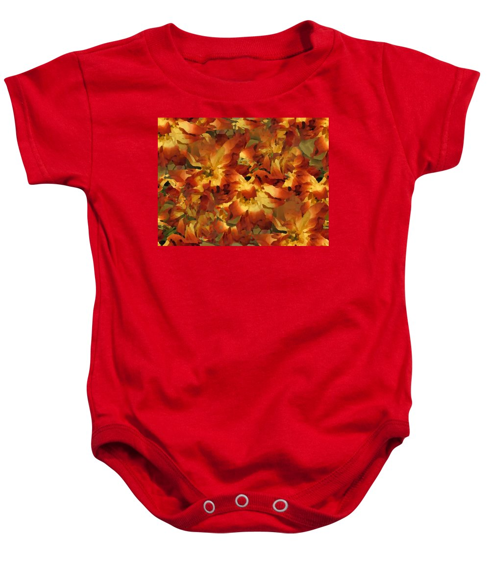 Flowers Baby Onesie featuring the photograph Delightful by Tim Allen