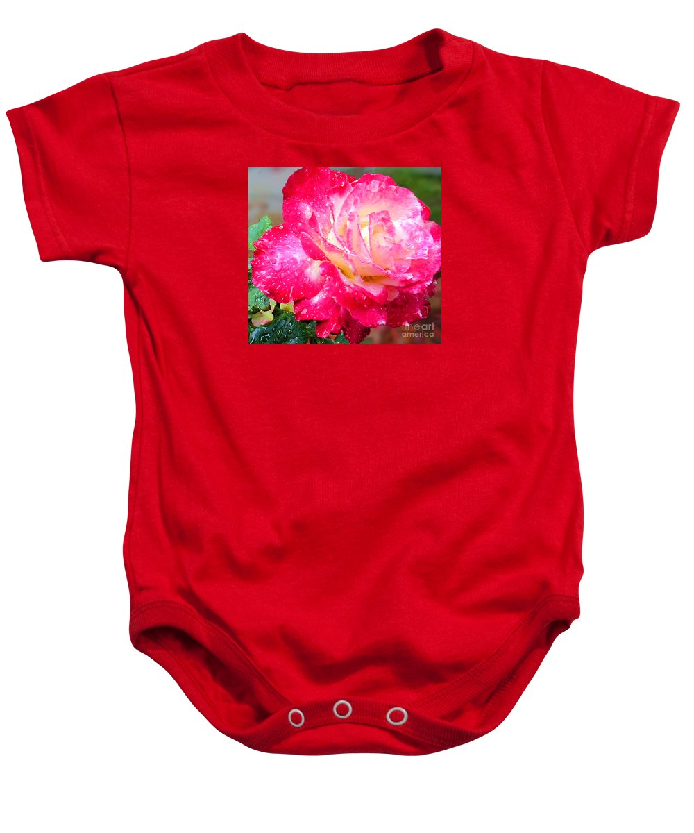Fine Art Photography Baby Onesie featuring the photograph Double Delight by Patricia Griffin Brett