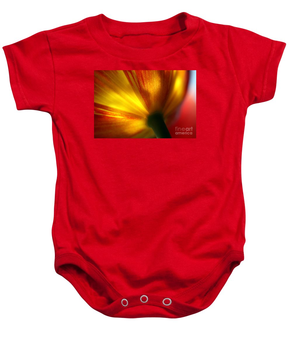 Spring Baby Onesie featuring the photograph Eventually by Amanda Barcon