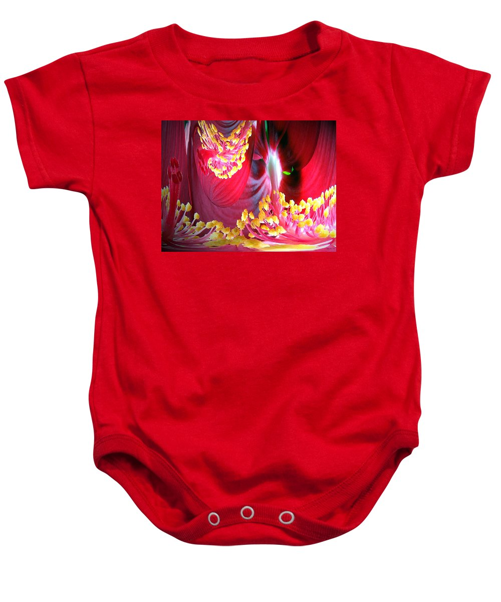 Fairytale Baby Onesie featuring the photograph Fairytale Forest by Merja Waters