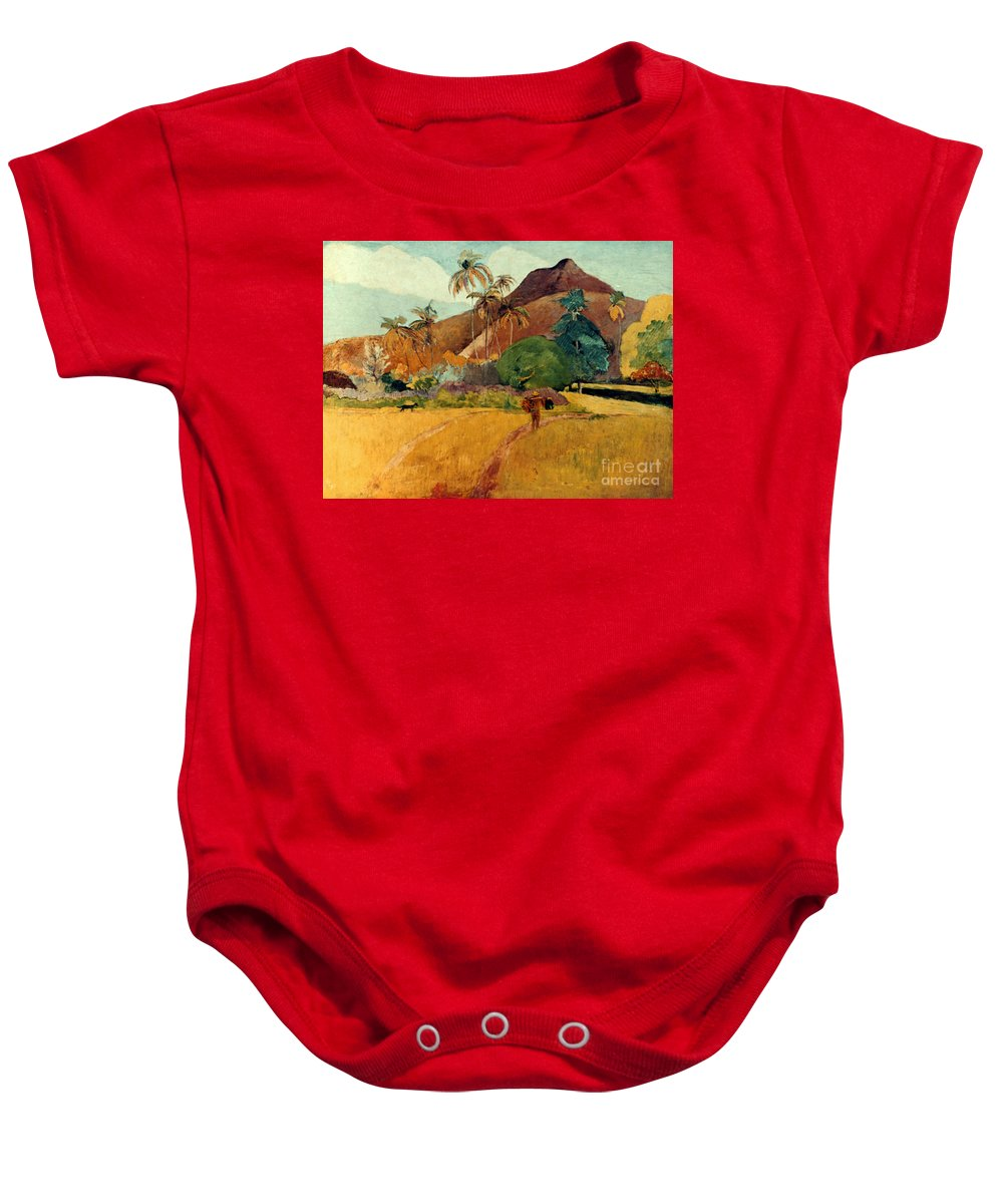 1891 Baby Onesie featuring the photograph Gauguin: Tahiti, 1891 by Granger