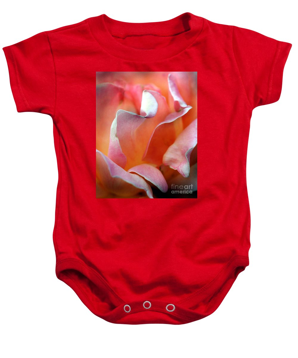 Flowers Baby Onesie featuring the photograph Georgias Rose by Norman Andrus
