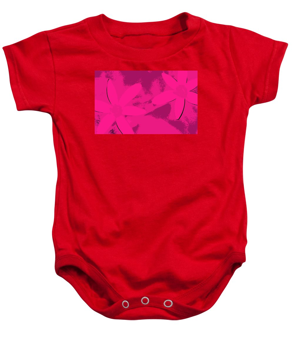 Girl Friends Baby Onesie featuring the photograph Girl Friends by Ed Smith