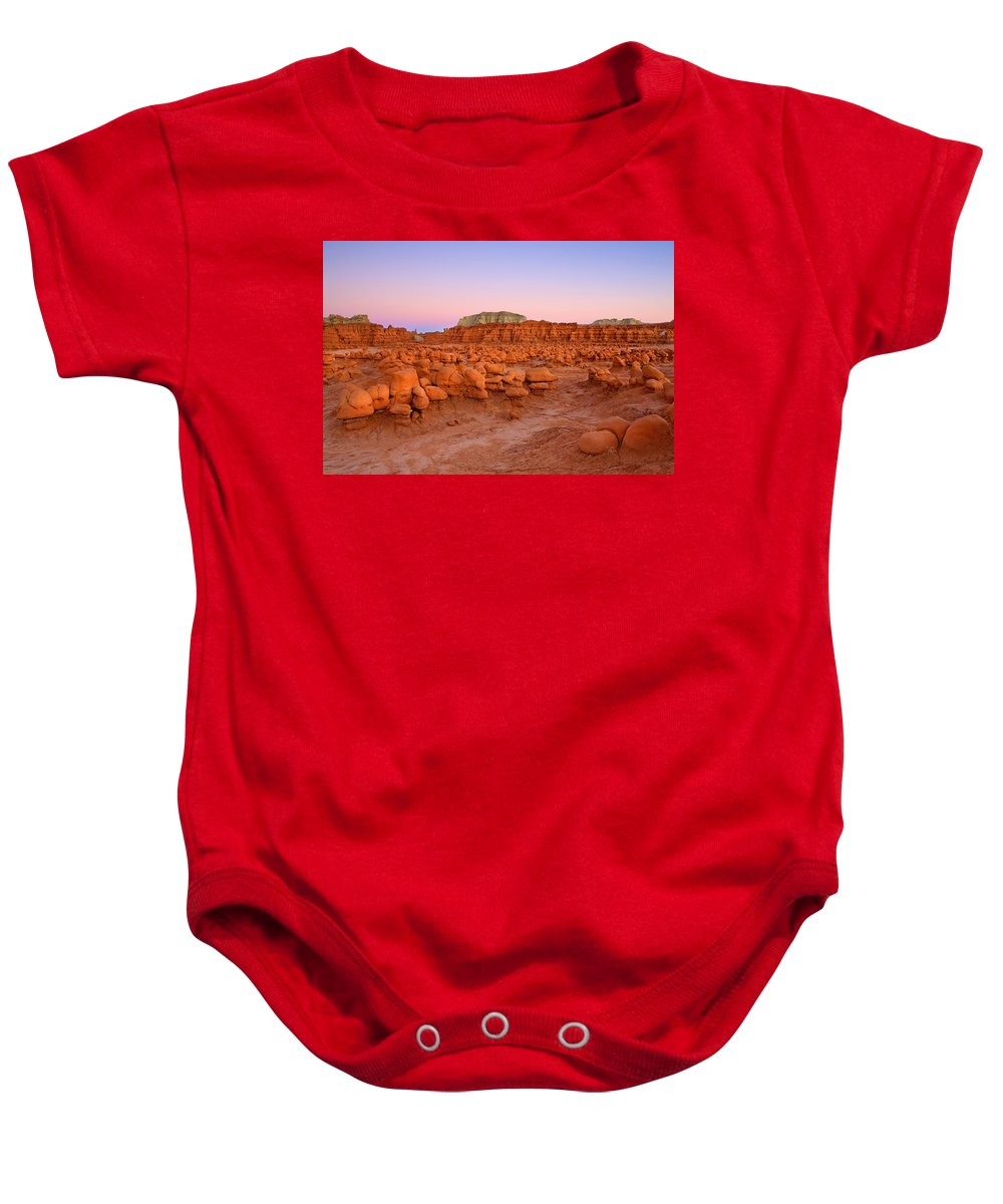 Goblin Baby Onesie featuring the photograph Goblin Glow by Mike Dawson