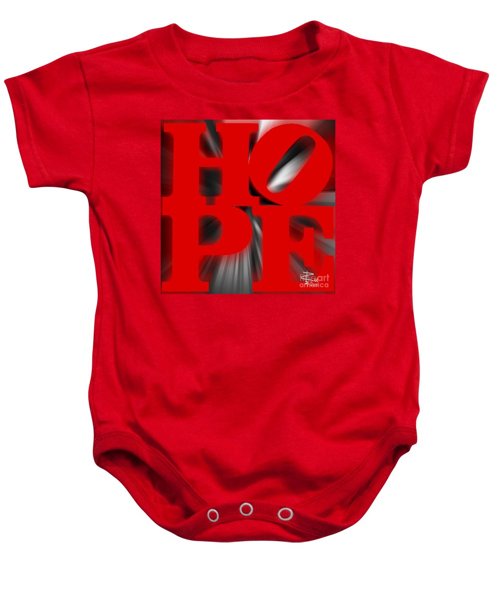 Hope Baby Onesie featuring the photograph Hope by Rui DeGouveia