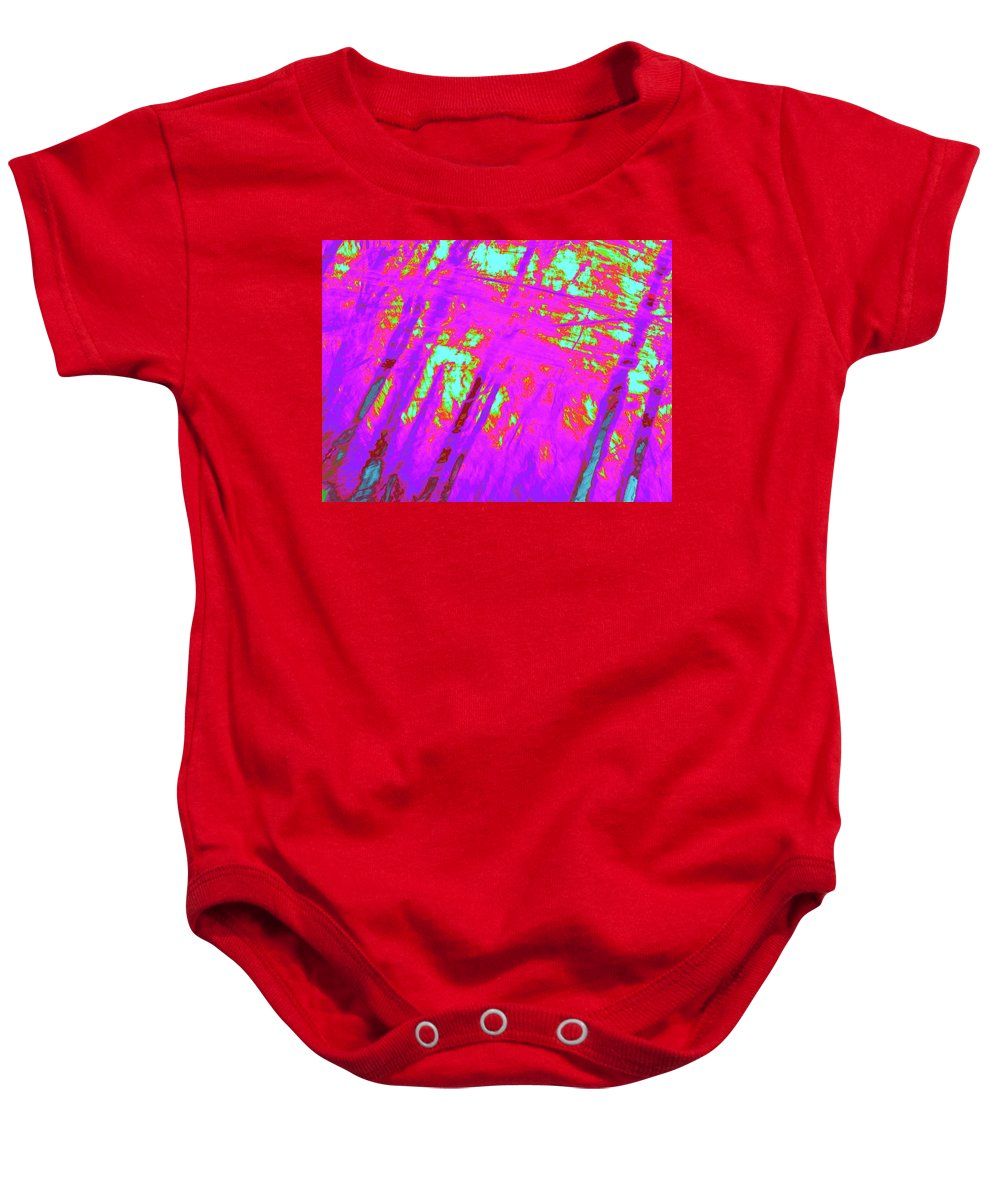 Trees Baby Onesie featuring the photograph Impressions Of A Forest 4 by Gary Bartoloni