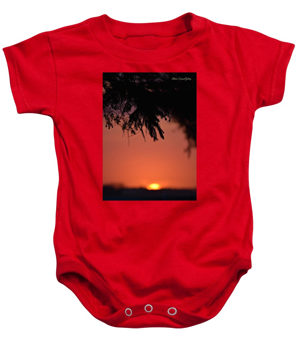 On Life's Road We Sometimes See Things Out Of Focus! Baby Onesie featuring the photograph Just A Blur by Kurt Keller