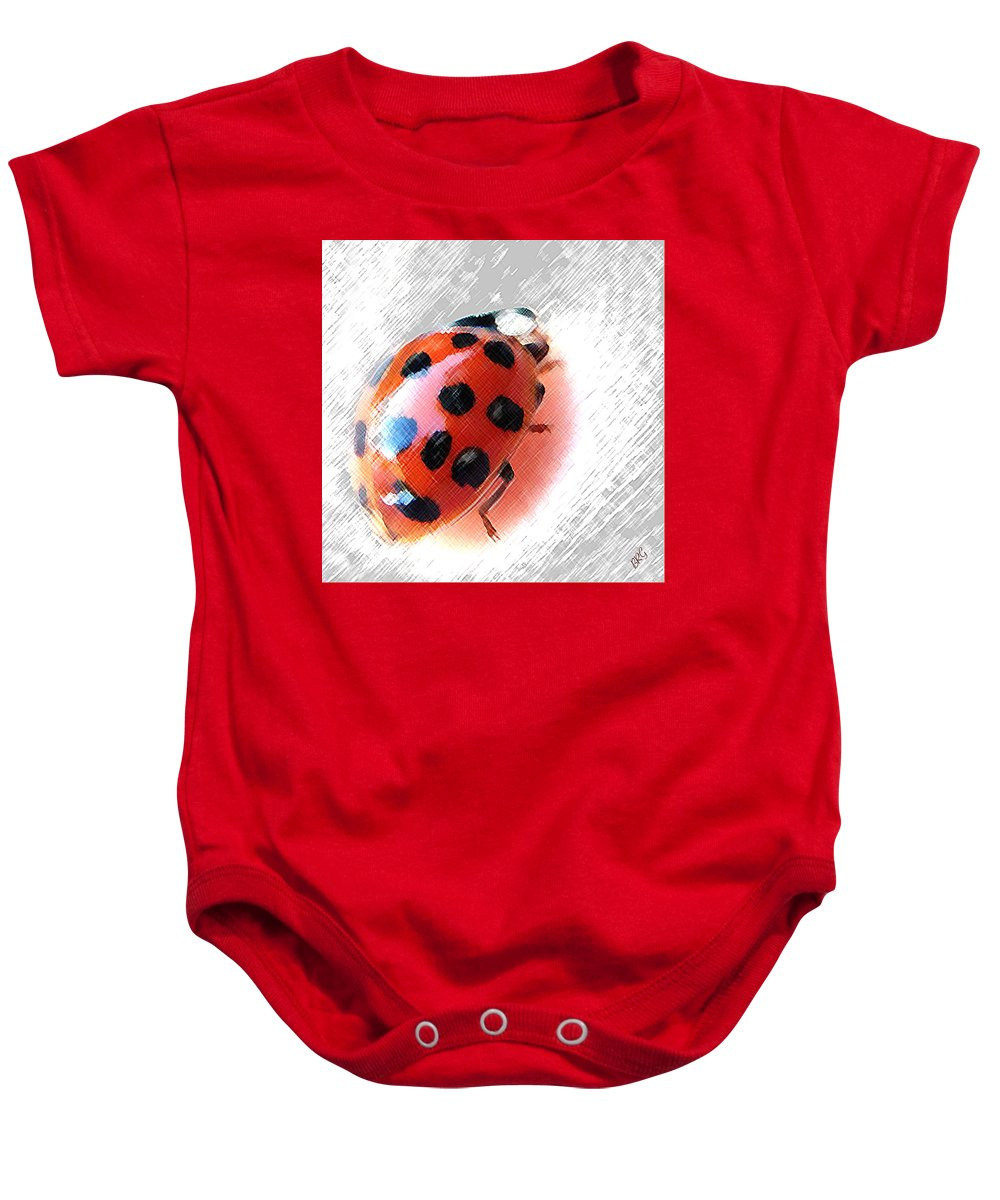 Ladybird Baby Onesie featuring the photograph Ladybug Spectacular by Ben and Raisa Gertsberg