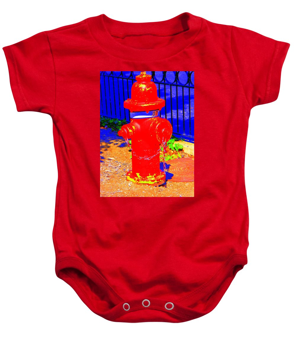 Old Baby Onesie featuring the photograph Old No.7 by Ed Smith